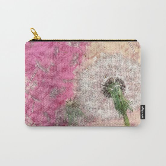 Dandelion - pastel fantasy Carry-All Pouch
