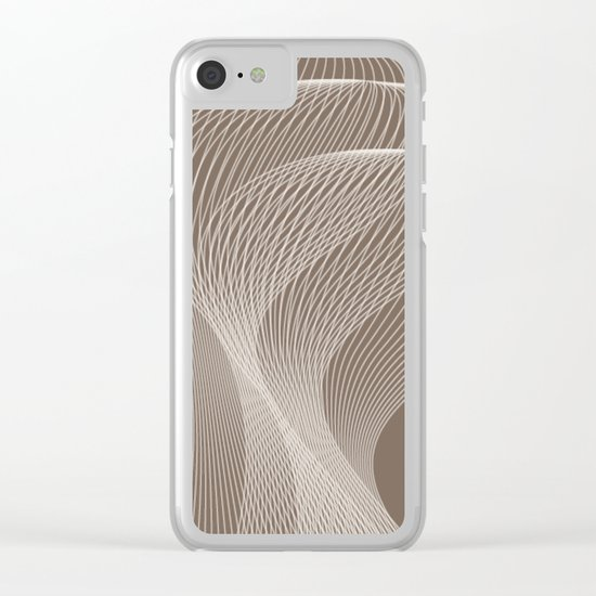 Abstract pattern 41 Clear iPhone Case
