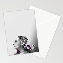 Quartz Armor & Orchids in Her Hair Stationery Cards