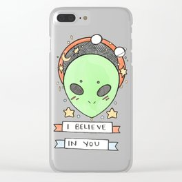 Somebody Thinks You're Stellar Clear iPhone Case