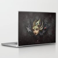 lydia martin Laptop & iPad Skins featuring Lydia by SugarFlesh