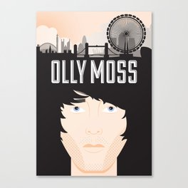 Olly Moss Canvas Print