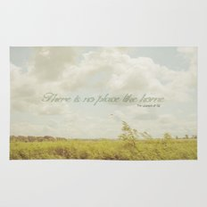 There is no place like home -The Wizard Of OZ Rug