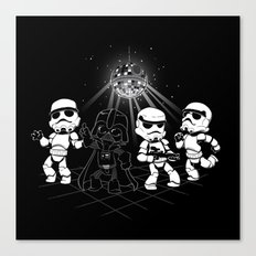 Dark Side Disco Dancing Canvas Print