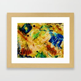 """Autumn-Blue"" Framed Art Print"