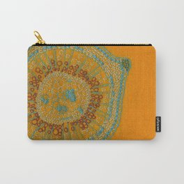 Growing - hypericum - plant cell embroidery Carry-All Pouch