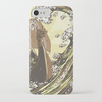vikings iPhone & iPod Cases featuring Vikings by Josue Noguera