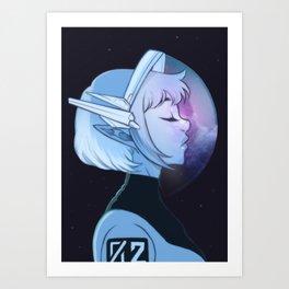 Galaxal Tranquility Art Print