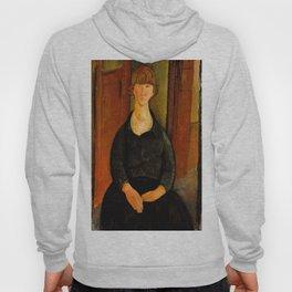 "Amedeo Modigliani ""Flower Vendor.jpg Hoody"