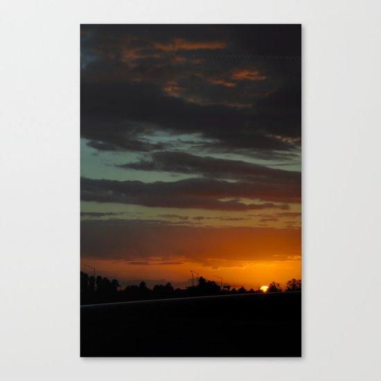 Orlando International Sunset Canvas Print