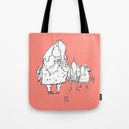 Anxious Elephants Tote Bag
