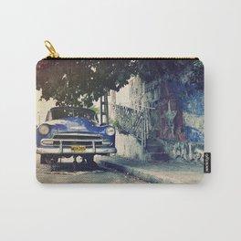 Cuba Vintage Car Carry-All Pouch