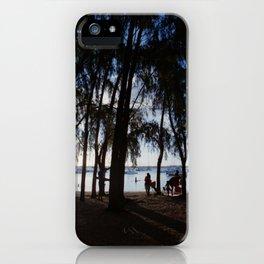Last Ray of Sun iPhone Case