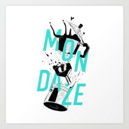 Mondaze II Art Print