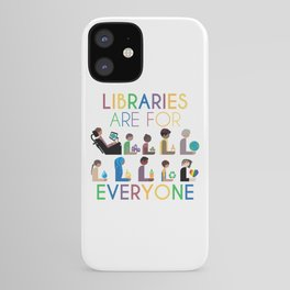 Rainbow Libraries Are For Everyone iPhone Case