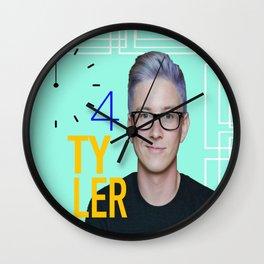 Time 4 Tyler Oakley  Wall Clock