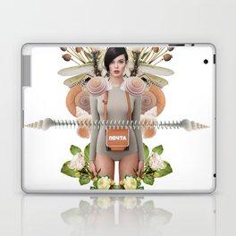 Nude Flowers by Lenka Laskoradova Laptop & iPad Skin
