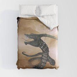 Awesome fantasy cobra Comforters