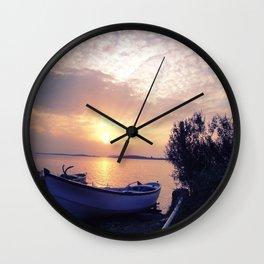 CHANAKKALE SUNSET Wall Clock