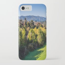 River Bank Trees iPhone Case