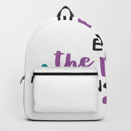 Be the Voice Not the Echo Backpack