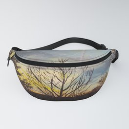 Sunset at the Park Fanny Pack