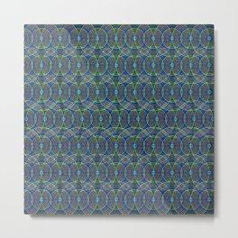 Colorful Geometric Pattern XII Metal Print