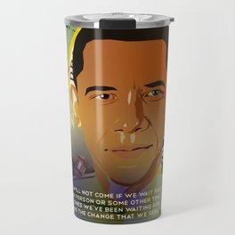 President Obama Travel Mug