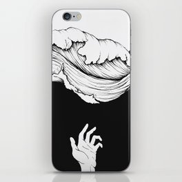 Rolling waves iPhone Skin