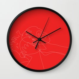 a lot of stuff happened but i didn't lose my mind Wall Clock