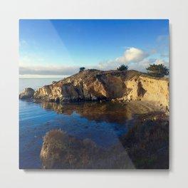 Hiking Point Lobos before dusk in Carmel, CA Metal Print