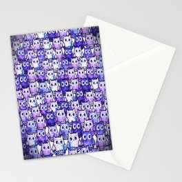 owl-111 Stationery Cards