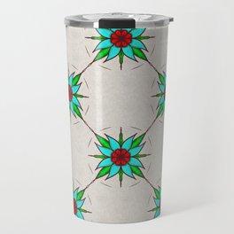 Aquilegia Flower Travel Mug