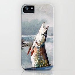 Pike, Lake St. John - Digital Remastered Edition iPhone Case