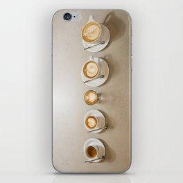 Espresso 5 ways iPhone Skin