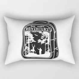 One More Adventure Rectangular Pillow