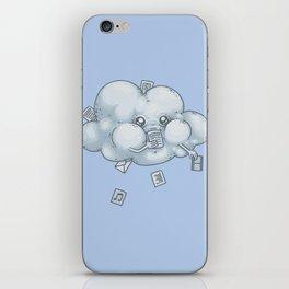 Cloud Storage iPhone Skin