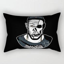 Golf Wang - Tyler The Creator Skull Ink Print Rectangular Pillow