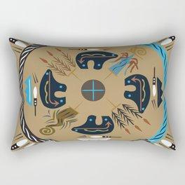 American Native Pattern No. 114 Rectangular Pillow