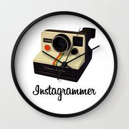 instagrammer Wall Clock