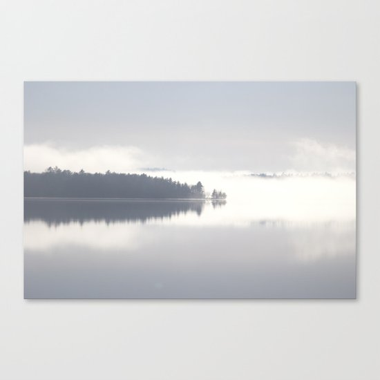 Reflecting By The Lake Canvas Print