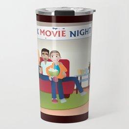 Wolf Pack Movie Night Travel Mug