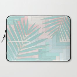 Summer Mood with Chevron and Palms Laptop Sleeve