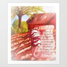 The Kingdom of God Art Print