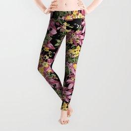 Blossom Pattern Leggings