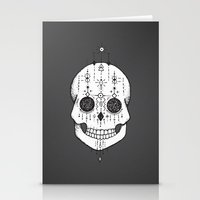 calavera Stationery Cards featuring calavera by gaelle nasr