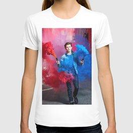 Tom Holland Blue Red Spray T-shirt