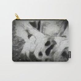 Halloween - stump in winter - uncanny Carry-All Pouch