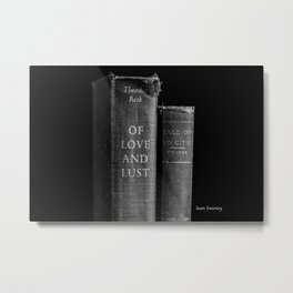 Of Love and Lust - Tale of Two Cities Metal Print