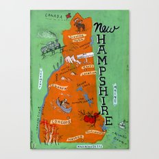 NEW HAMPSHIRE Canvas Print
